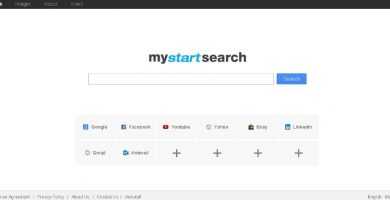 Borrar MyStartSearch